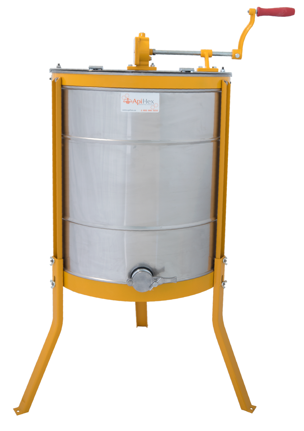 4/8 Frame Honey Extractor - SOLD OUT FOR 2018