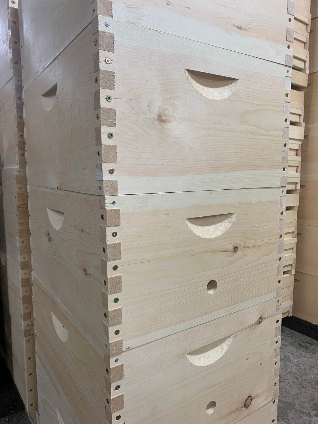 Deep Langstroth Hive Boxes (assembled)