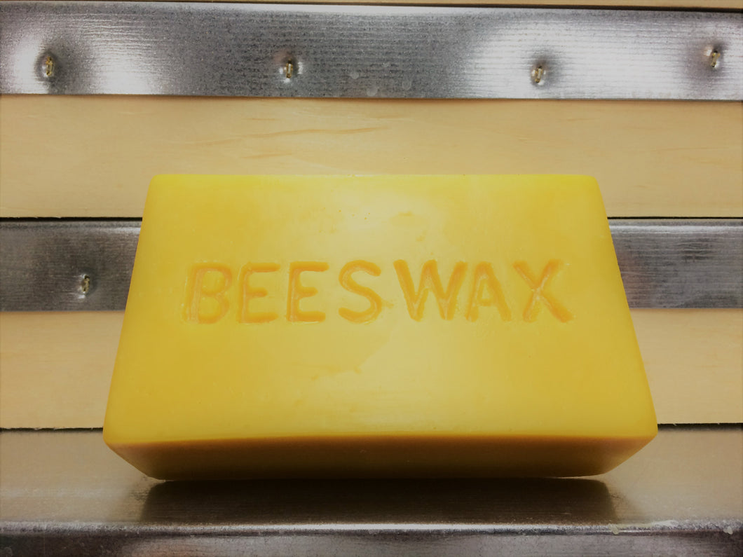 Pure Beeswax Blocks (1 pound/454g)