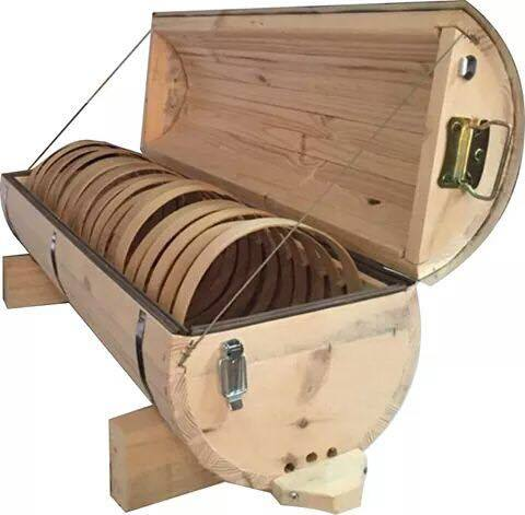'Hoop Hive' Top-Bar Hive: available with or without bees