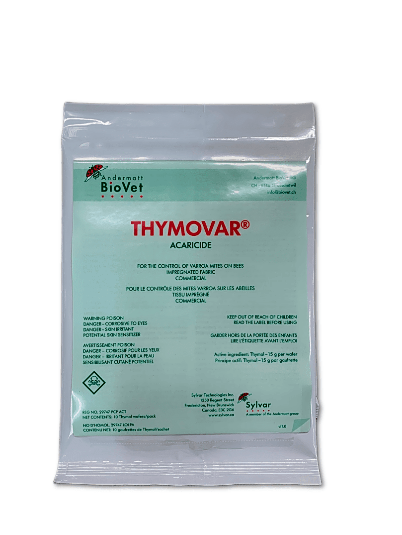 Thymovar Organic Mite Treatment - 10 wafers