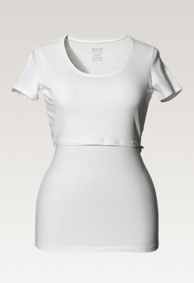 Classic Short Sleeve Top - White