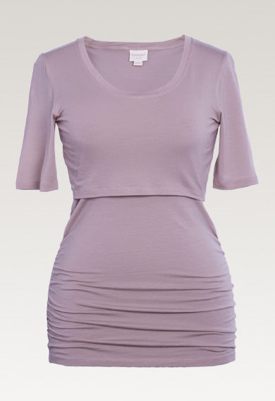 Flatter Me Top - Short Sleeve - Lavender