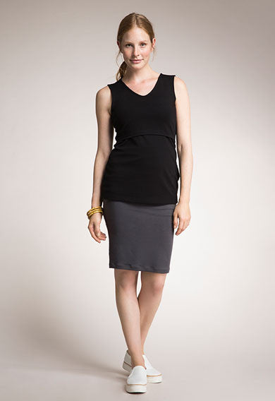 Once-On-Never-Off Ruched Skirt