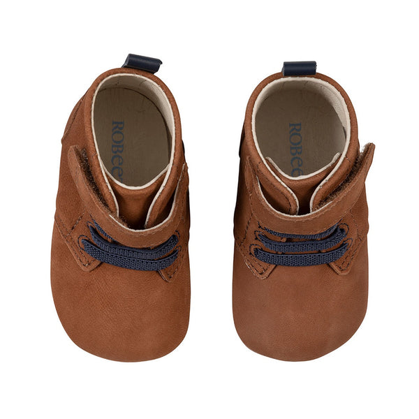 First Kicks Lucas Boot - Dark Walnut
