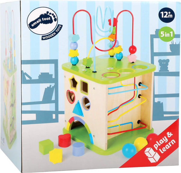 Motor Skills Cube with Marble Run