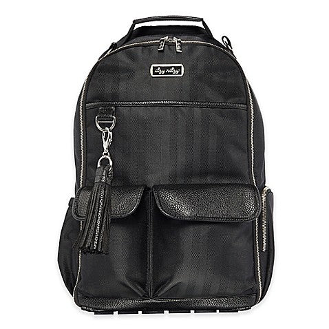 Boss Diaper Bag Backpack - Black