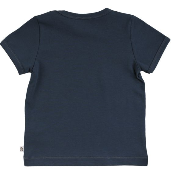 Cozy Me Short Sleeved Shirt - Midnight
