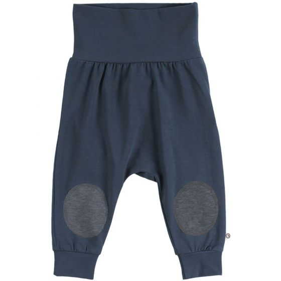 Cozy Me Pants with Knee Patches - Midnight