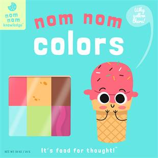 Nom Nom Colors by Forrest Everett