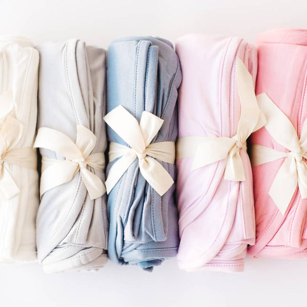 Bamboo Swaddling Blanket - Solid (Various Colors)