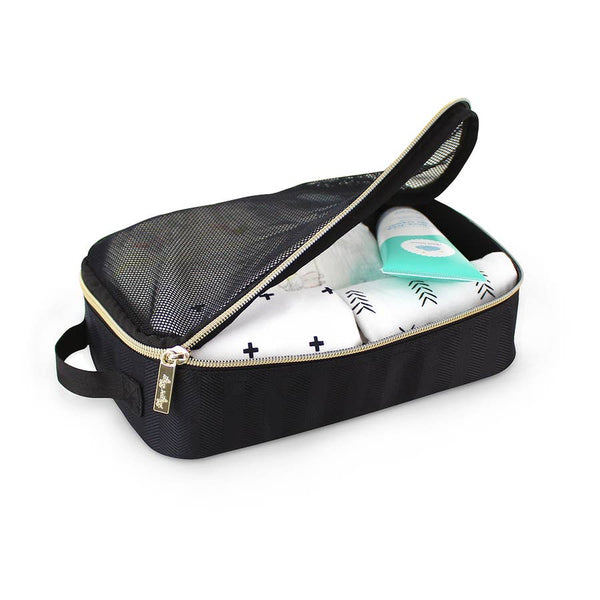 Black & Gold Packing Cubes