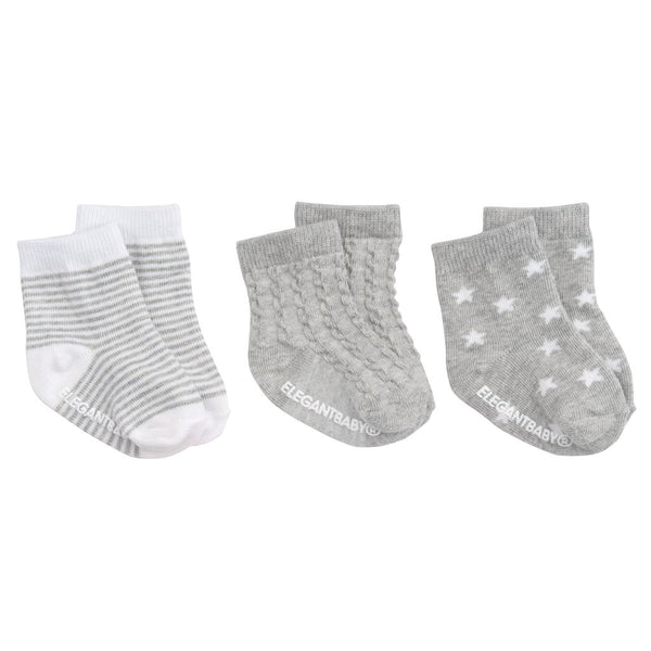 Tonal Socks - Gray