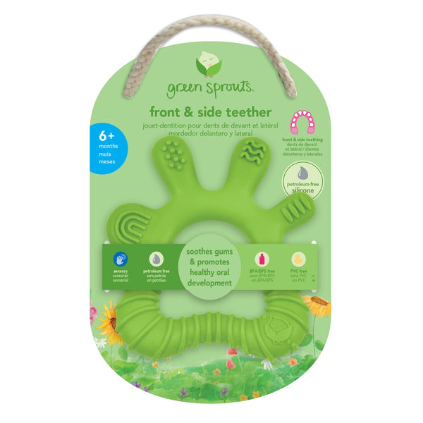 Silicone Front & Side Teether