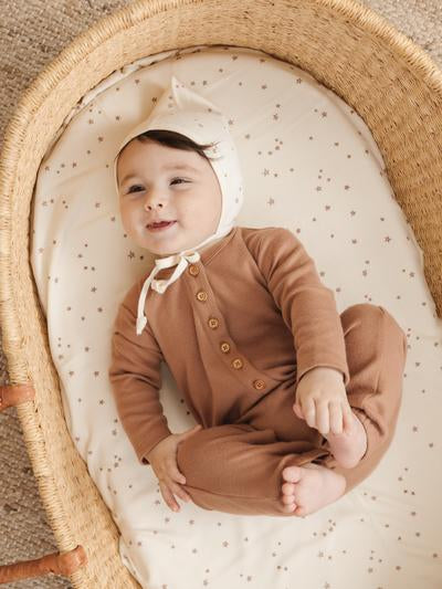 Long Sleeve Jumpsuit - Clay