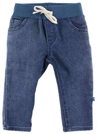 Stretch Waist Fitted Jean - Dark Wash