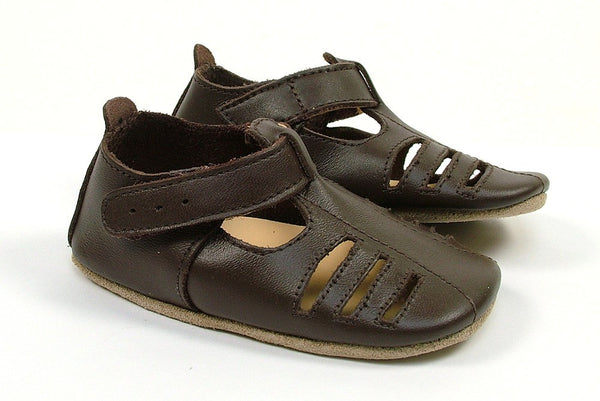 Soft Sole - Chocolate Boys Sandals