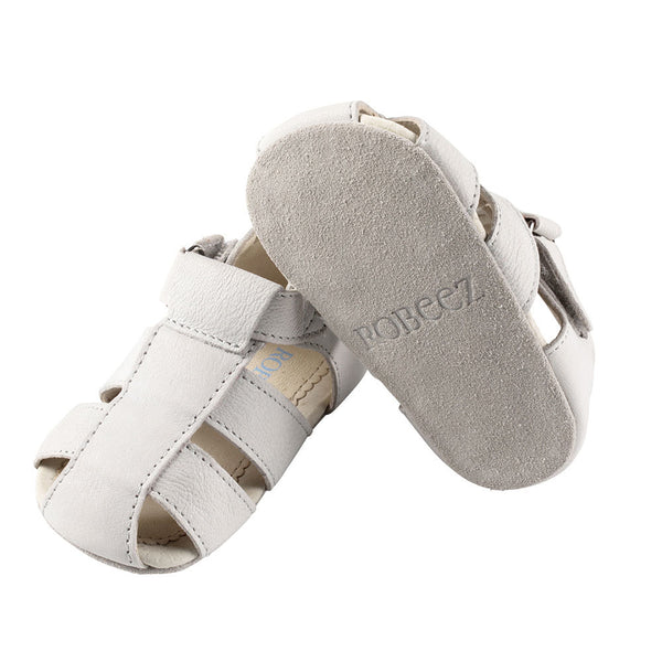 Soft Sole First Kicks - Matthew Light Grey