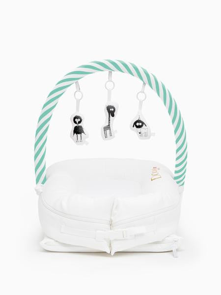 Toy Arch for Deluxe+ Dock - Aqua/White