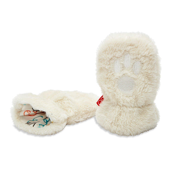 So Soft Minky Fleece Magnetic Mittens - Various Colors