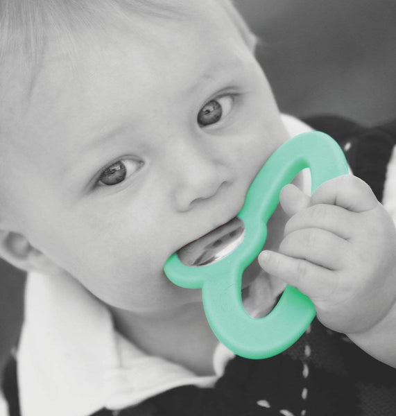 Toofeze Natural Baby Teether - Mint Green