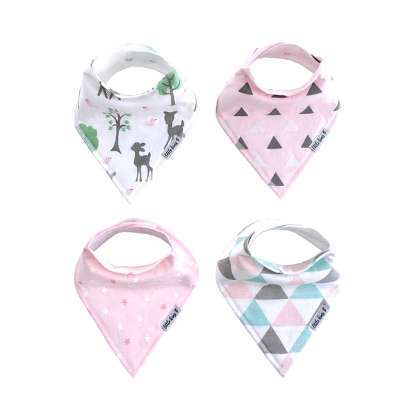 Little Kims - Enchanted Forest Organic Bandana Bibs