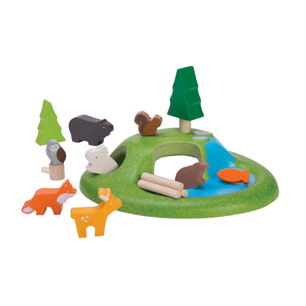 Wooden Animal Play Set
