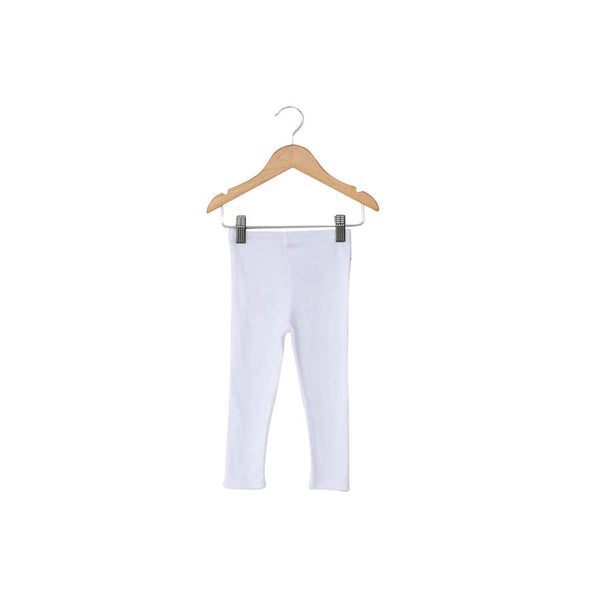 Baby + Toddler Organic Legging - White