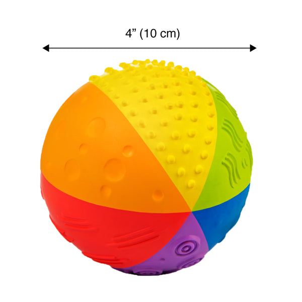 Natural Sensory Ball - Rainbow