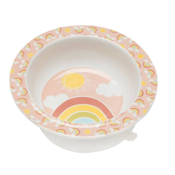 Suction Baby Bowl - Rainbows and Sunshine