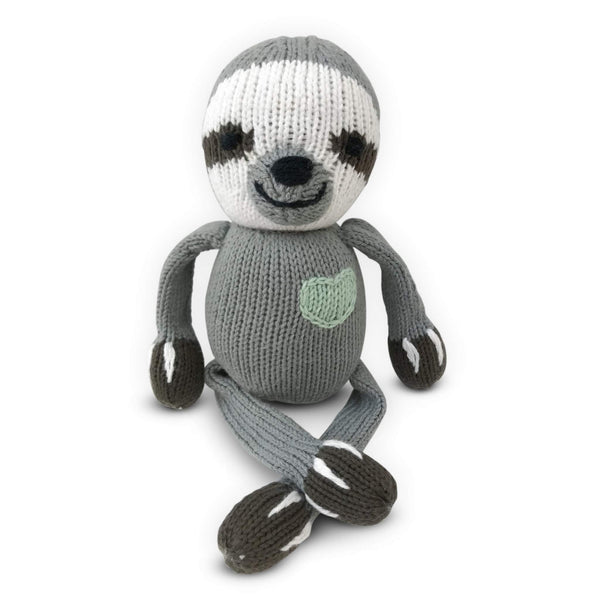 Organic Cotton Rattle Buddy - Various