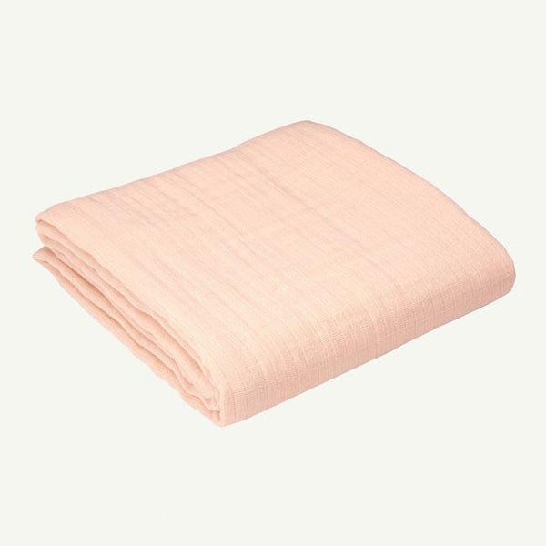 Solid Organic Cotton Muslin Swaddles - Various Colors