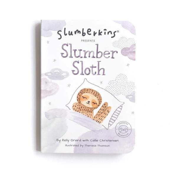 Slumber Sloth Board Book - Relaxation