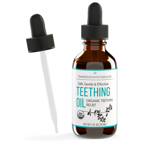 Organic Teething Oil