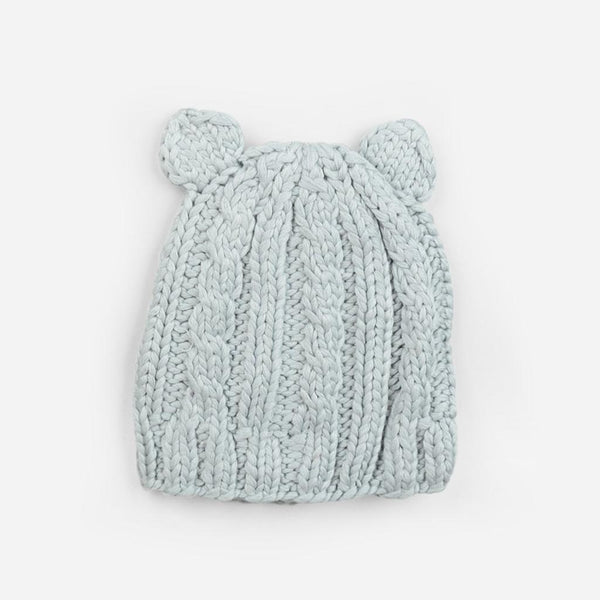 Bamboo Julian Cable Knit Hat - Gray