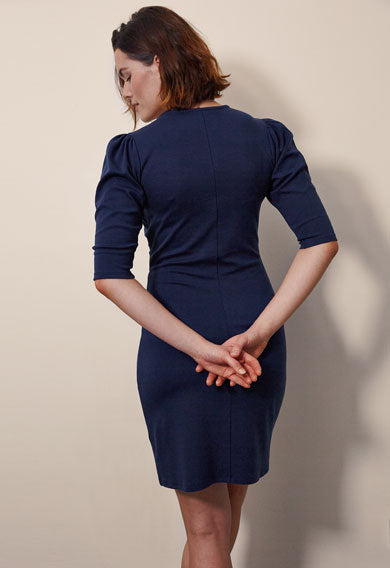 Isabelle Dress - Navy