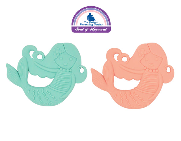 Sugarbooger by Ore' Originals - Isla the Mermaid Silicone Teether - Set of 2
