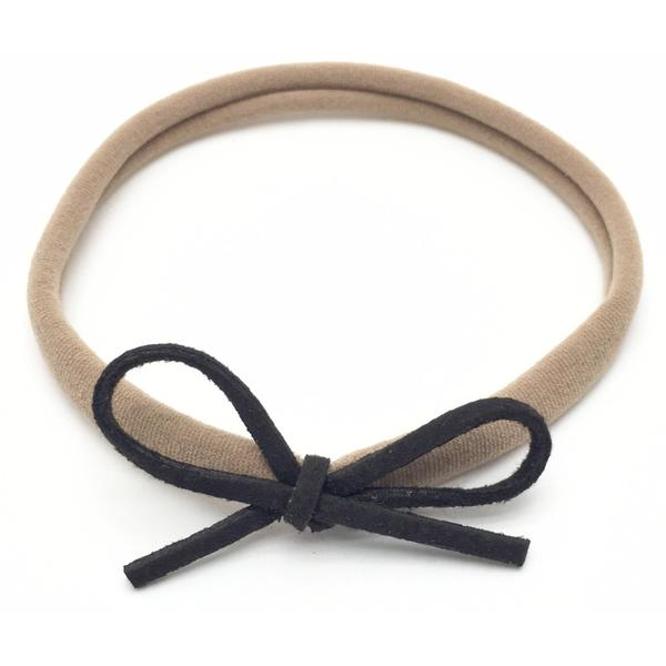 Dainty Bow Nylon Headband