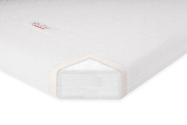 Babyletto Pure Core Non-Toxic Crib Mattress w/ Hybrid Cover