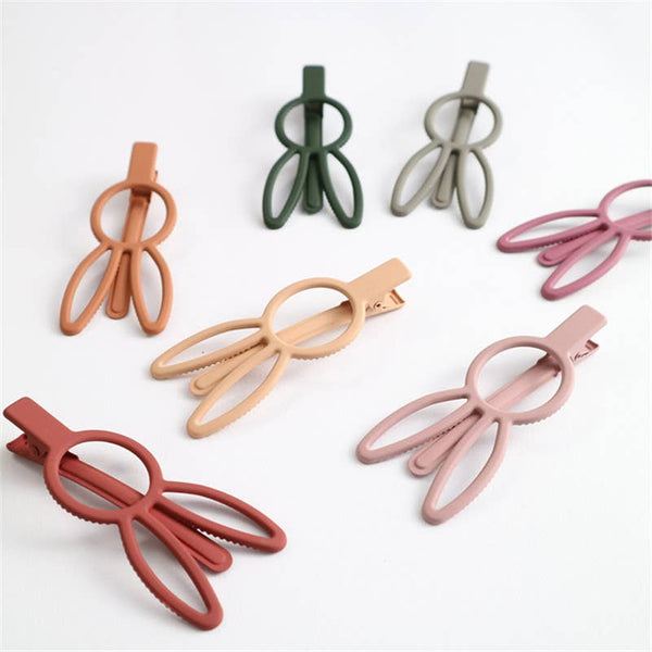 Bunny Rabbit Hair Clips - Various Colors