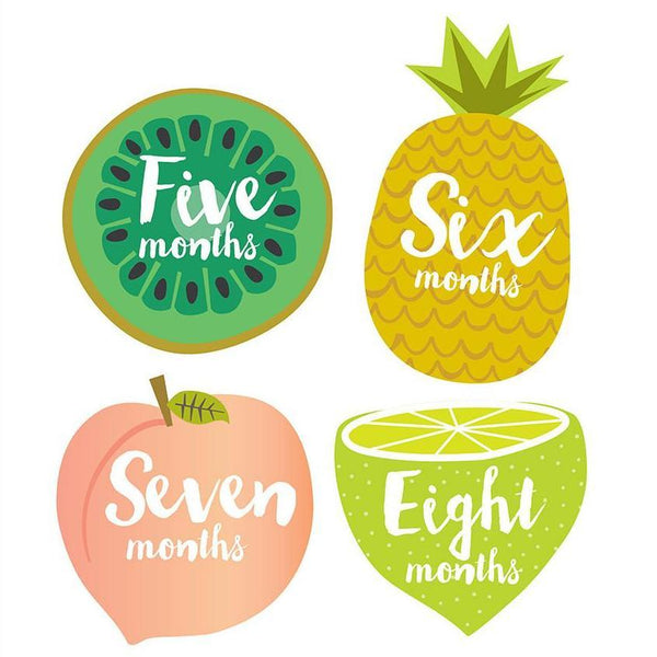 Tutti Frutti Monthly Stickers