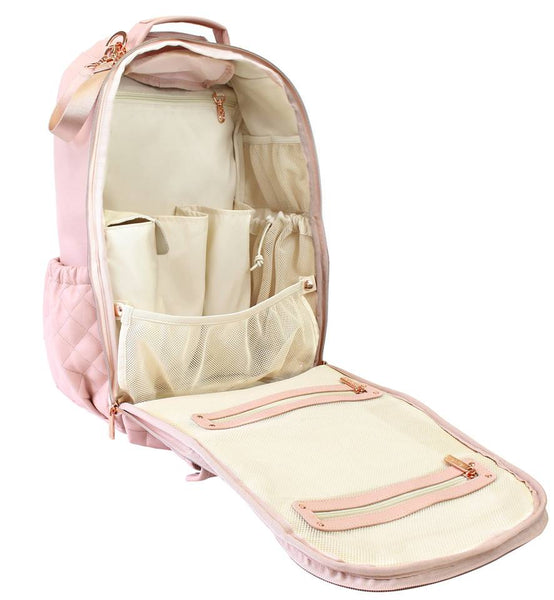 Boss Diaper Bag Backpack - Blush Crush