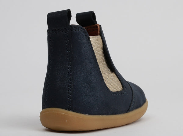 Step Up - Jodphur Boot (Navy Shimmer)