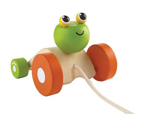 Jumping Frog Pull Toy