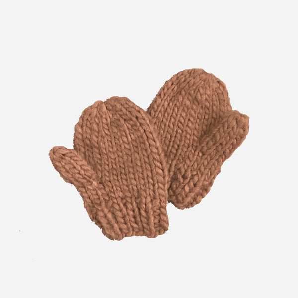 Hand Knit Mittens - Various Colors