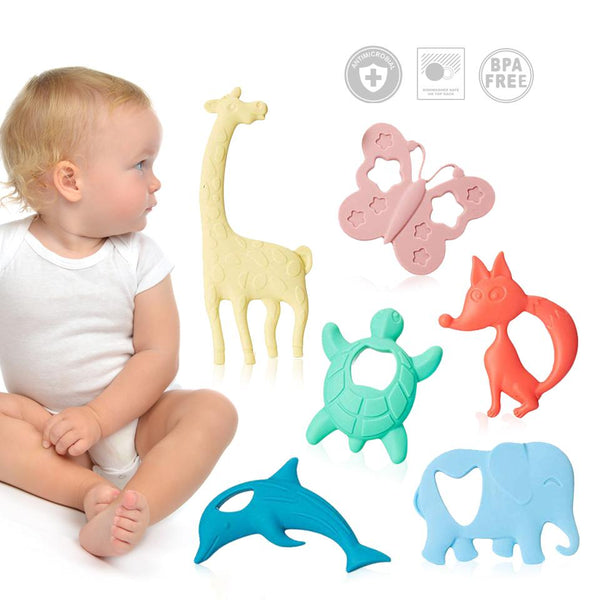 ChewBox Animal Edition - Silicone Teethers