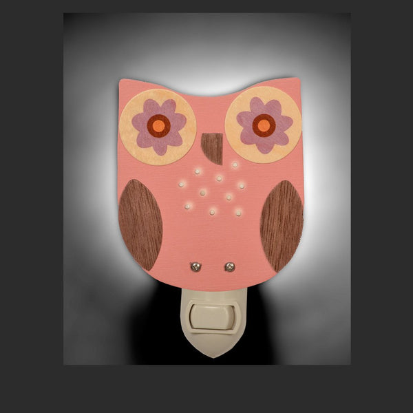 Owl Nightlight - Various Colors