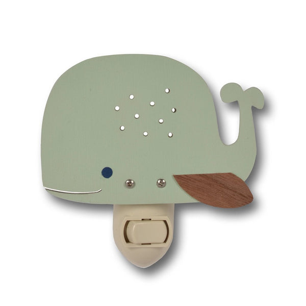 Whale Nightlight - Various Colors