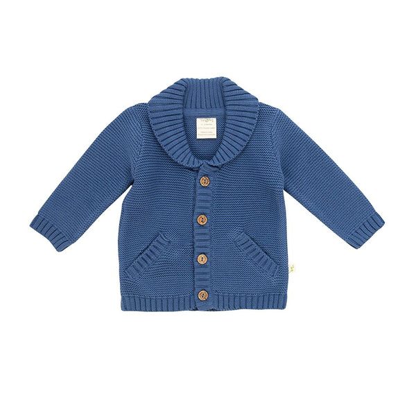 Knitted Cardigan - Sapphire