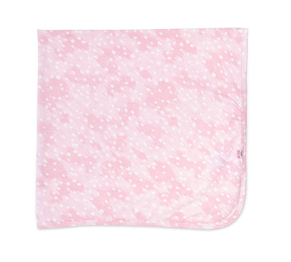 Modal Swaddle Blanket - Pink Doeskin